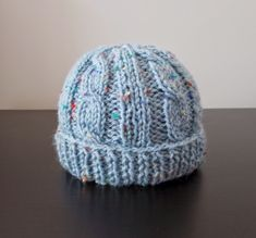 marianna's lazy daisy days: Cabled Baby & Toddler Hat Free Pattern