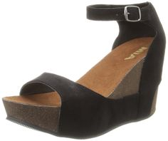 MIA Women's Jam Wedge Sandal >>> Details can be found by clicking on the image.