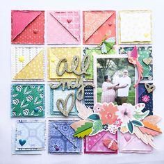 Love Scrapbook, Mixed Media Scrapbooking, Scrapbook Designs, Scrapbook Sketches, Scrapbook Page Layouts, Scrapbook Paper Crafts, Scrapbook Cards, Photo Layouts, Scrapbook Embellishments