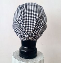 Handcrafted CL Gingham Print Cotton STELLA TURBAN⠀(The Back) #CLTurban #Turban #Turbantime #Gingham #Ginghamprint #cotton #Cottonturban #Turbanwrap #Turbannation #Turbanista #turbanchic #style #chic #vintage #classic #shades #sunglasses #Accessories #Italy #CapeTown #SouthAfrica Turbans, Sunglasses Accessories, Printed Cotton, Gingham, Headbands, Shades, Italy, Stylish, Classic