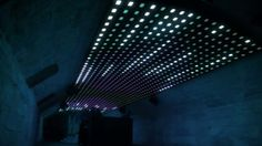 LIGHTBOX. Modular and interactive permanent LED Installation. Developed and produced by NYX Atelier, January 2013.  Designed by http://www.n...