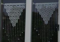 572 Meilleures Images Du Tableau Rideaux Au Crochet Handarbeit
