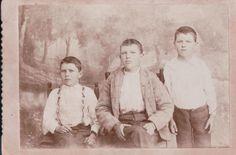 Sam, Jack and Frank Stanaland