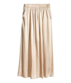 H&M Satin maxi skirt 129 AED