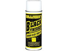 Sullivan's Black Finisher Premium Black Livestock Touch-Up 14 oz