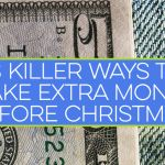 33 Killer Ways to Make Extra Money Before Christmas