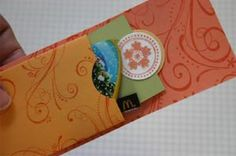 Splitcoaststampers - Gift Card Holder
