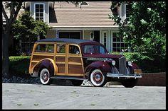 1940 Packard 110 Woody Sedan Hercules Body, Multiple Award Winner for sale by Mecum Auction