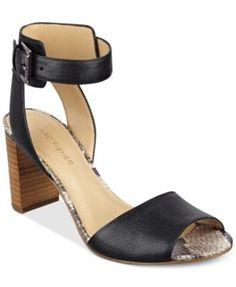917c795eeee Marc Fisher Genette Ankle-Strap Sandals   Reviews - Sandals   Flip Flops -  Shoes - Macy s