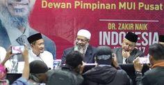 Tiba di Bandung dan Dikawal RATUSAN Polisi, Hari ini Ceramah Perdana DR Zakir Naik di UPI Bandung Akan Disiarkan Langsung