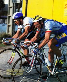 Laurent Fignon, Pro Cycling, Racing, Bike Stuff, Helmets, Twitter, Vintage, Legends, Inspiration