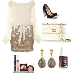 """""""Party Girl Chic"""" by rzupek on Polyvore"""