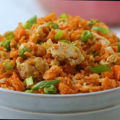 "Sweet Potato ""Fried"" Rice Recipe by Tasty"