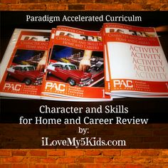 PAC Character and Skills for Home and Career Review by @loving5kids