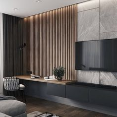 Modern Living Room – cozy home warm House Paint Interior, Home Interior Design, Luxury Bedroom Design, Interior Sketch, Home Living Room, Living Room Decor, Bedroom Decor, Interior Cladding, Living Room Tv Unit Designs