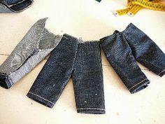 Tutorial ropa muñecas