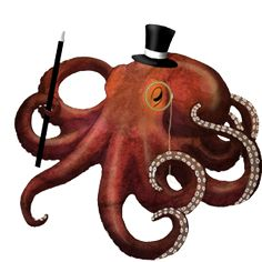 octopus tattoo concept art, on my shoulder Octopus Tattoos, Octopus Art, Painting Inspiration, Tattoo Inspiration, Steampunk Octopus, Steampunk Animals, Underwater Images, Hawaiian Tattoo, Tattoo Stencils