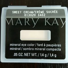 Mary Kay eye color Mary Kay mineral eye color in sweet cream Makeup Eyeshadow