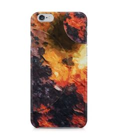 Wonderful Red and Black Abstract Picture 3D Iphone Case for Iphone 3G/4/4g/4s/5/5s/6/6s/6s Plus - ARTXTR0015 - FavCases