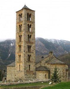 Sant Climent de Taüll - La Vall de Boí - Lleida - UNESCO world heritage site