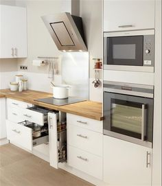 Cocinas Blancas Y Luminosas 6 Home Depot Kitchen, Farmhouse Kitchen Decor, Country Kitchen, New Kitchen, Home Kitchens, Kitchen Ideas, Bright Kitchens, Kitchen Modern, Kitchen Buffet