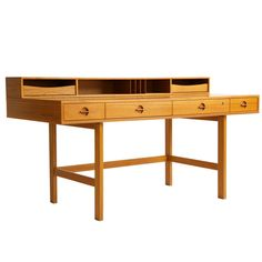 Jens Quistgaard Desk   From a unique collection of antique and modern desks at https://www.1stdibs.com/furniture/storage-case-pieces/desks/