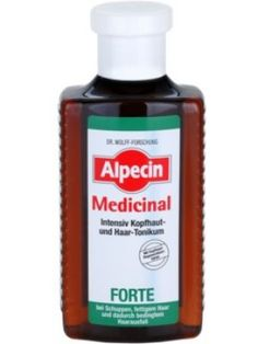 Alpecin Medicinal Forte tonic intens impotriva matretii si caderii parului 200 ml Medicine, Personal Care, Bottle, Self Care, Personal Hygiene, Flask, Medical, Jars