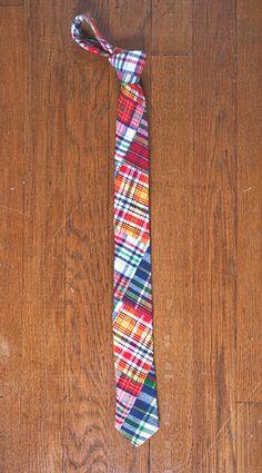 William Coburn Madras tie