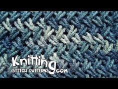 Wicker stitch aka Criss-Cross Stitch - YouTube