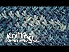Wicker stitch aka Criss-Cross Stitch - YouTube