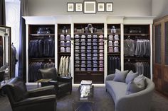 Hackett London store, Milan store design