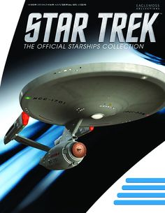 Star Trek: The Official Starships Collection is a British partwork magazine which is published by Eaglemoss Collections. It is available in a number of countries worldwide and is authorized and licensed by CBS Consumer Products. Each fortnightly issue includes a hand-painted ABS and die-cast metal scaled replica of a starship from the Star Trek universe. Notably, Eaglemoss is producing a sizable number of starship designs that have not been manufactured by a licensed company before.