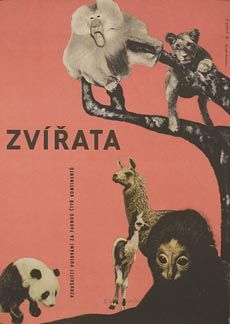 Posteritati: ANIMALS, THE (Les animaux) 1964 Czech 11x16