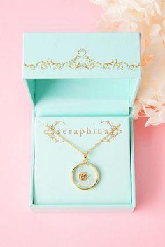 Seraphina Faith Pendant Necklace