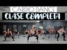 CARDIO DANCE🔴   Clase completa para bajar de peso y tonificar - YouTube Cardio Workouts, Hiit, Tae Bo, Youtube Workout, Dance Fitness, Aerobics, Zumba, Videos, Fun