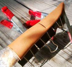 Making a Scandinavian Style Knife Sheath - Photos