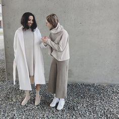 """@juliennenichole auf Instagram: """"50 shades of beige for @oakandfort"""""""