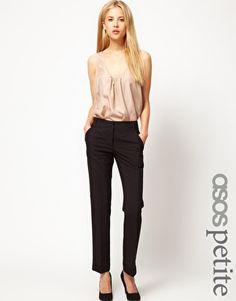 ASOS PETITE Jet Pocket Trousers