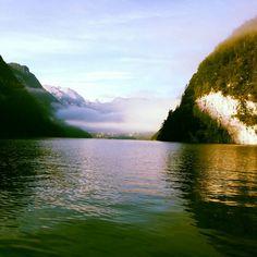 Morgendlicher Königssee, Berchtesgadener Land