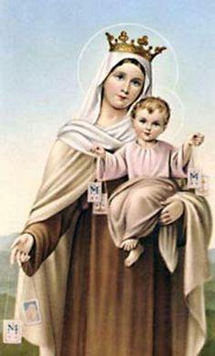 Virgen del Carmen,  ruega por nosotros!!!