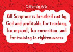 2 Timothy 3:16