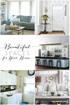 Calm, serene, lovely spaces for your home - beautiful collection! maisondepax.com