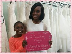 Say hello to our beautiful customer who found her bridesmaid dress at Absolute Haven Bridal.