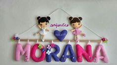 Felt ballerinas,name banner https://www.facebook.com/sanjarilica