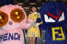 Hikari Mori at the Fendi Ginza opening event in Tokyo