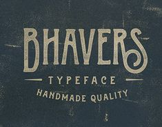 Introducing new handmade typeface it's call Bhavers, This is condensed version of the Handters typeface, and as always this is handdraw style it can makes your work more stylish. OpenType features with Stylistic Alternates, Contextual Alternate and Discre…