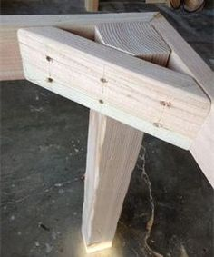 Wood Profits - Farmhouse table leg and frame example. No link - Discover How You. Wood Profits - Farmhouse table leg and frame example. No link - Discover How You Can Start A Woodworking Business Fr Pallet Ideas, Pallet Projects, Diy Projects, Project Ideas, Project Free, Furniture Projects, Wood Furniture, Furniture Plans, Garden Furniture