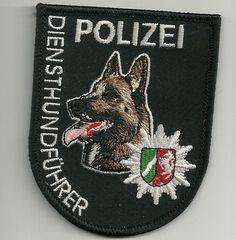 K-9: DienstHundführer NORDRHEIN-WESTFALEN  NRW MALINOIS HUNDEFÜHRER  Polizei DHF
