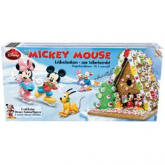 "Mickey Mouse Lebkuchenhaus ""Do it yourself"" Lebkuchenhaus zum…"