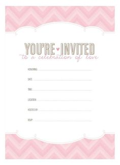 Free Bridal Shower Invitations Templates Online Invitations From  Bridal Showers Invite Friends And Shower .